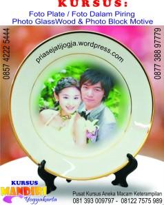 Foto dalam piring