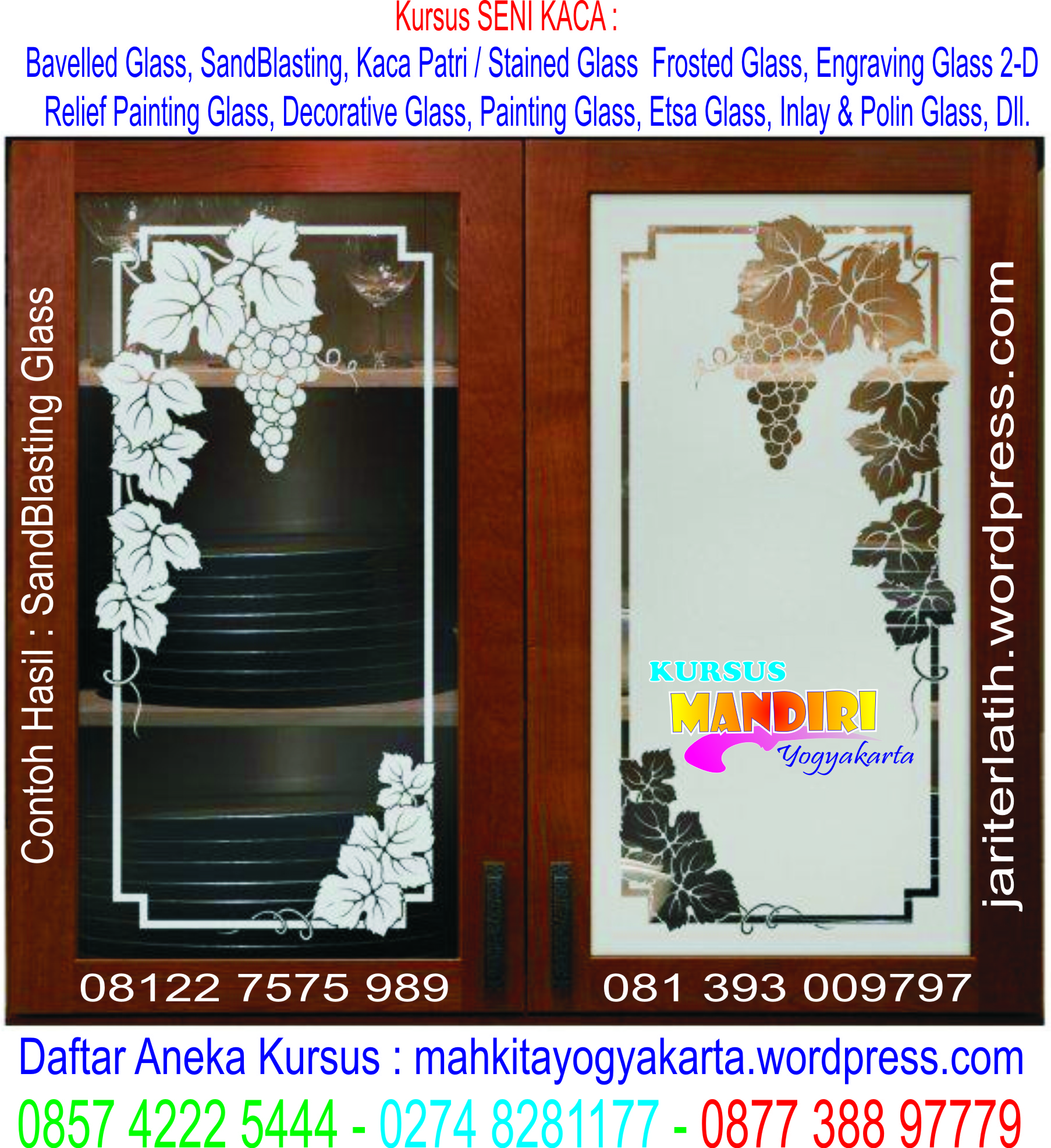 Grapevin Etched Glass Panel Door